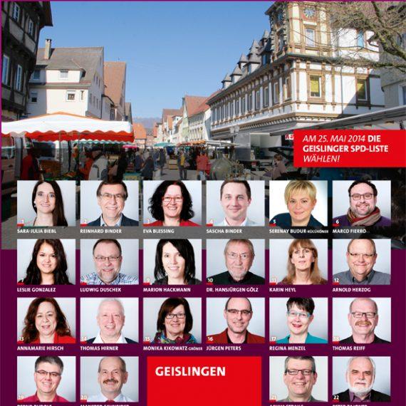 SPD Wahlkampagne 2014